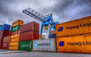 Ordering of sea shipping containers